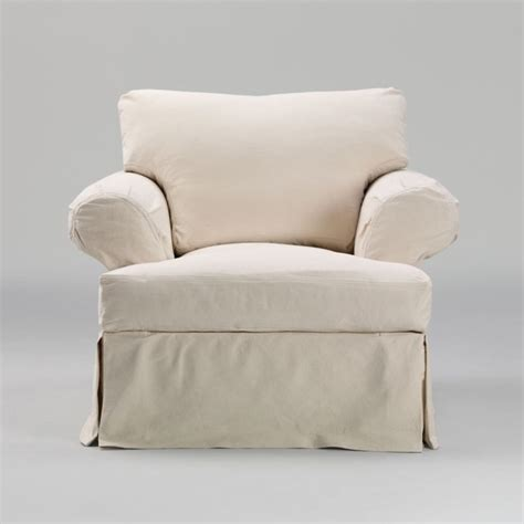 Accent Chair Slipcover Corbett Chair Slipcover Traditional Armchairs And