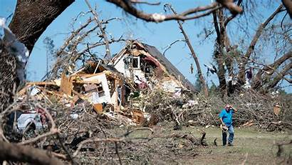 Tornadoes Through American South Rip Thetrumpet