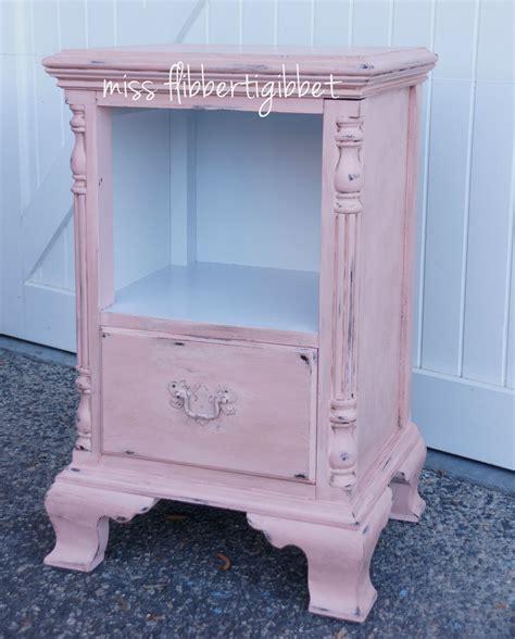 Pink Nightstand by Pink Nightstand Miss Flibbertigibbet