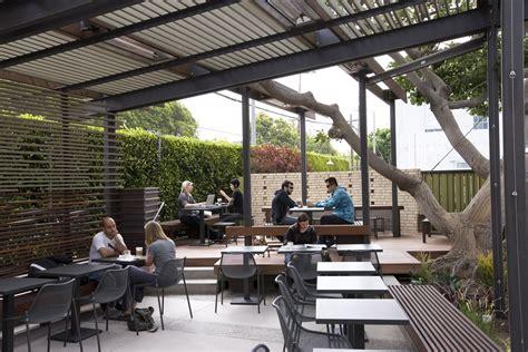 patio cafe design cafe in venice gets a lift by dex design studio