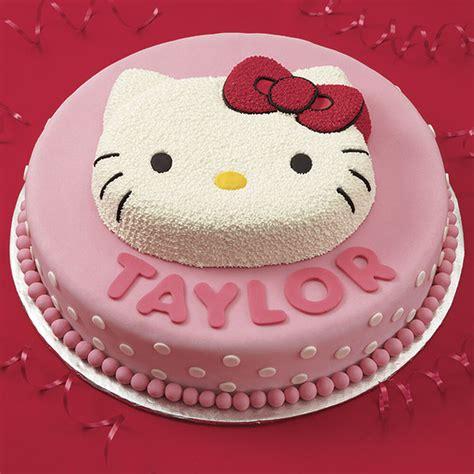 kitty birthday cake wilton
