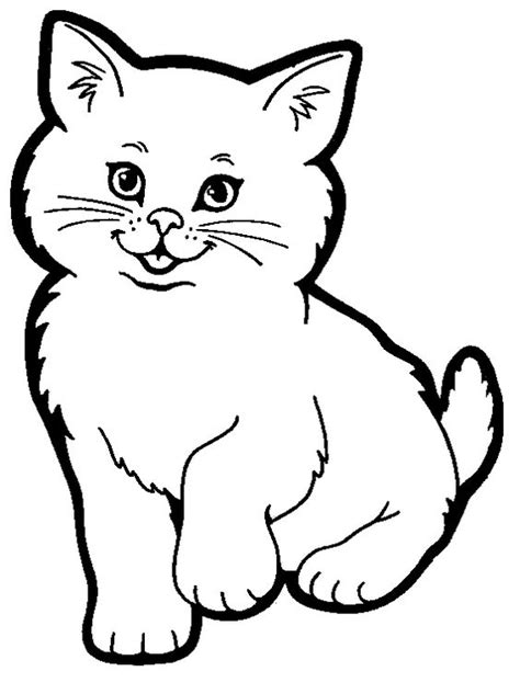 top   printable cat coloring pages  kids coloring cute cats   kids
