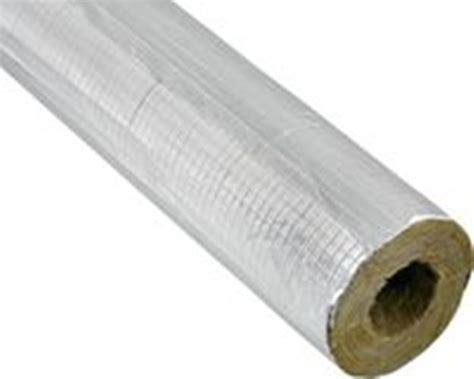 alukaschierte steinwolle rolle rohr d 228 mmung
