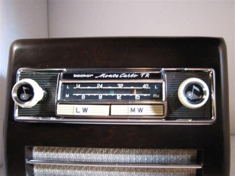 becker radio monte carlo voor mercedes ponton verkocht verkocht autoradio