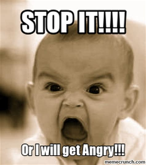 Angry Memes - angry baby