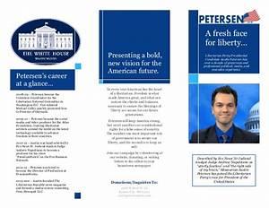 Pin On Diet Diet Sihat Petersen For President 2016 Brochure