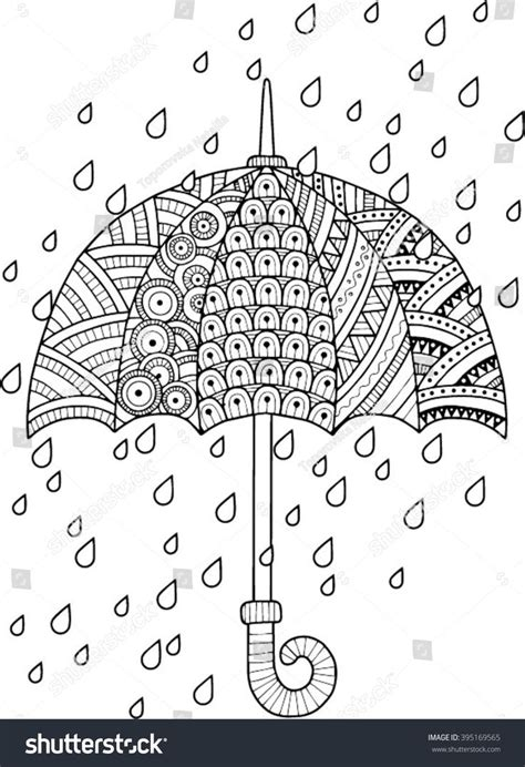 hand draw vector doodle coloring page  adult  love