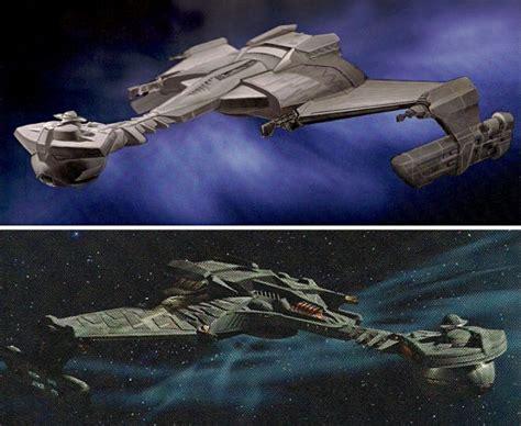 Klingon Battle Cruiser From The Re-imagined Star Trek Film