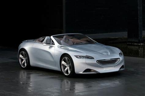 peugeot car one new peugeot sr1 concept car revealed details and photos
