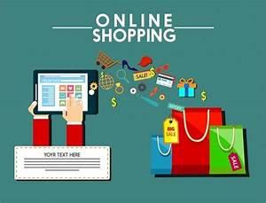 Design Online Shop : cloud storage website design illustration with computing ~ Watch28wear.com Haus und Dekorationen