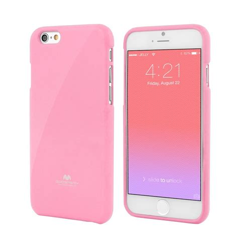 pink iphone 6 plus apple iphone 6 plus 5 5 quot premium jelly pink by goospery