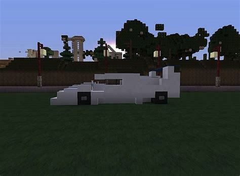 Moderne Sport Car Minecraft Project