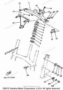 Yamaha Atv 1984 Oem Parts Diagram For Steering