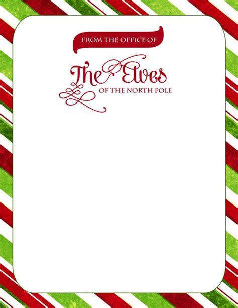 official elf letterhead elf   shelf pinterest