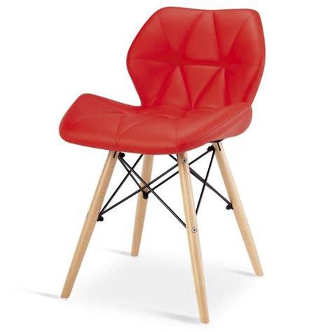 chaise design pied bois chaise design ophir pied en bois achat vente