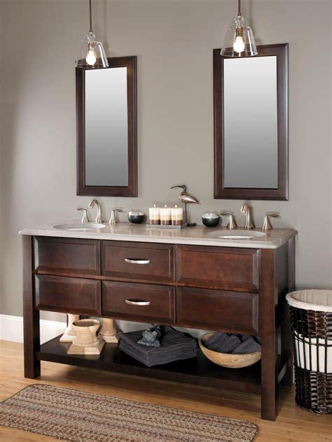 bathroom cabinet styles  trends hgtv