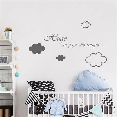 sticker chambre bebe garcon stickers prenom chambre bébé garcon ciabiz com