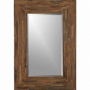 Seguro Rectangular Wall Mirror Crate and Barrel