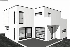 jolie photo facade de maison contemporaine With facade de maison contemporaine