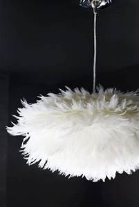 Suspension Luminaire Plume : diy la suspension plume plume initiales gg ~ Teatrodelosmanantiales.com Idées de Décoration