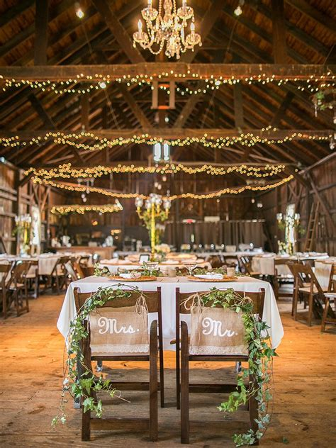 19 ideas for a rustic barn wedding