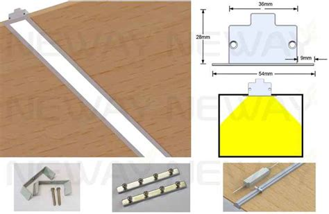 led linear ceiling lights 24w 36w 48w 60w linear recessed led ceiling light strip