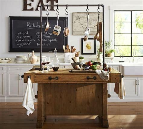 kitchen island pottery barn design tuesday vijf keer inspiratie voor je keuken want 5135