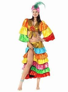 Samba Dancer Ladies' Costume - maskworld com
