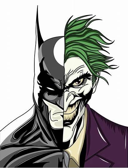 Joker Batman Drawings Drawing Half Gangster Quinn