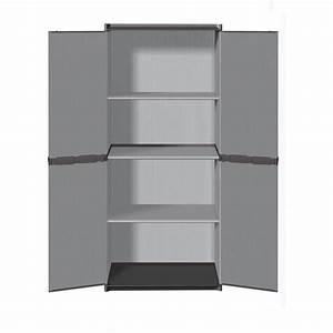 Meuble Rangement Garage : armoire rangement resine achat vente armoire rangement ~ Melissatoandfro.com Idées de Décoration