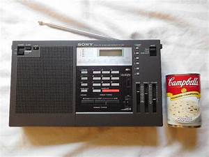 Sony Icf Fm Shortwave Radio Synthesized Receiver