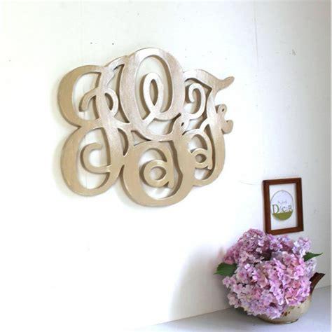 grand monogramme en bois personnalise monogramme en bois