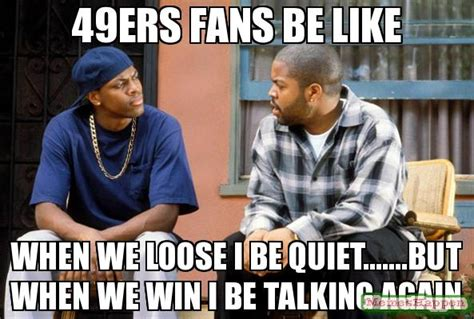 49ers Funny Memes - 49ers fans meme www imgkid com the image kid has it
