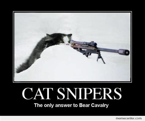 Sniper Memes - cat sniper by ben meme center