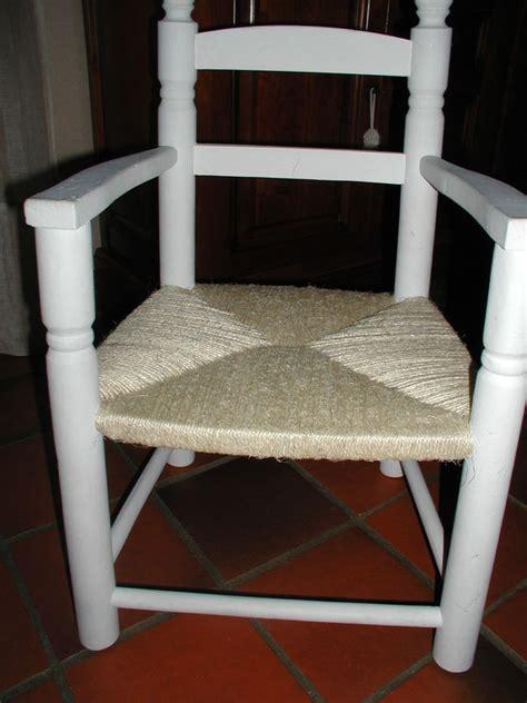 rempailler une chaise technique quot rempailler quot une chaise avec de la ficelle les deux