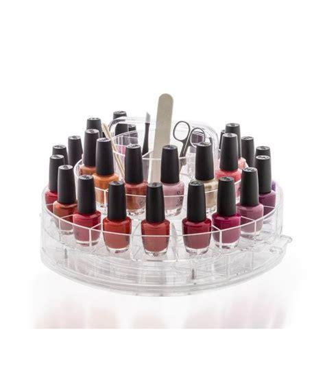 rangement vernis 224 ongles en acrylique transparent bar 224 ongles maison wadiga