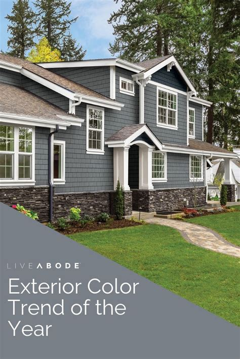 What Your Front Door Colors Says About You Grey exterior