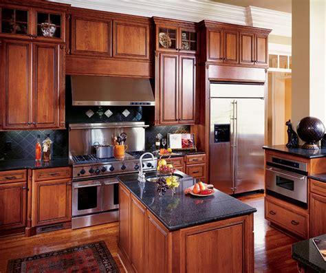 kitchen  cherry cabinets decora cabinetry