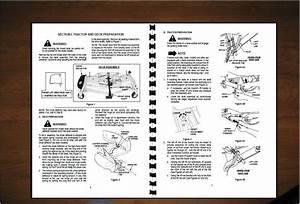 Cub Cadet 48 U0026quot   U0026 54 U0026quot  Mower Deck Operator U0026 39 S Manual Model 190