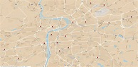 Prague Districts 01 - 22 Map for Download