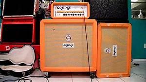 Guitar 4x12 Vs 2x12 U0026 39 S  Cab Comparison   Orange Cabs