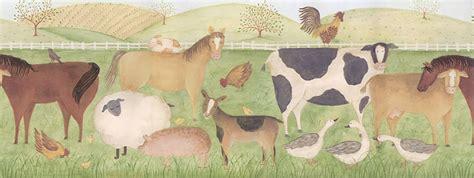 Farm Animal Wallpaper Border - pin farm animal wallpaper borders pictures on