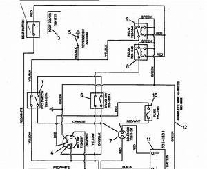 One Wire Alternator Tractor Wiring Diagram