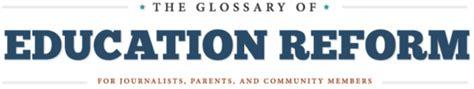 glossary  education reform  england secondary
