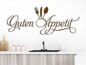 Wandtattoo Küche Guten Appetit - Glossyveneer.com