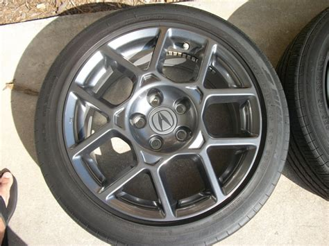 Sold Acura Tl Type S Oem Wheels, Tires, Tpms, Center Caps