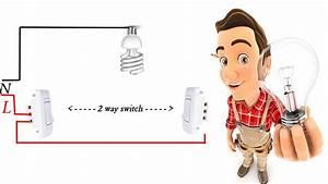 2 Way Switch Wiring