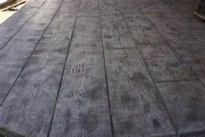 Wood Plank Concrete Stamp Photo