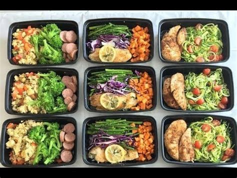 meal prep    hour youtube