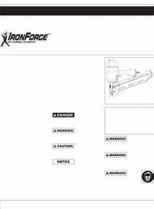 Campbell Hausfeld Nail Gun Ifn21950 User Guide